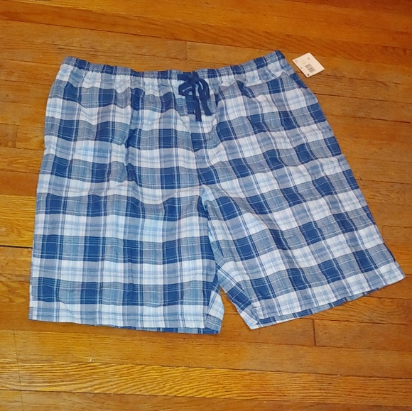 Basic Editions Other - 🆕 NWT Men's plaid lounge shorts size xxl